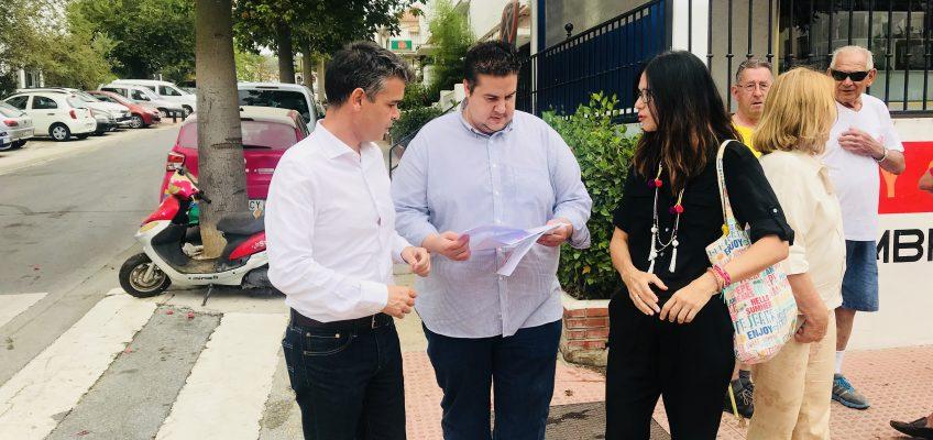 EL PSOE INSTARÁ EN PLENO A QUE SE ACOMETA LA OBRA DE REMODELACIÓN DE JORGE MANRIQUE EN NUEVA ANDALUCÍA