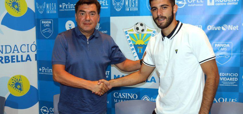 Luis Rioja se despide agradecido del Marbella FC