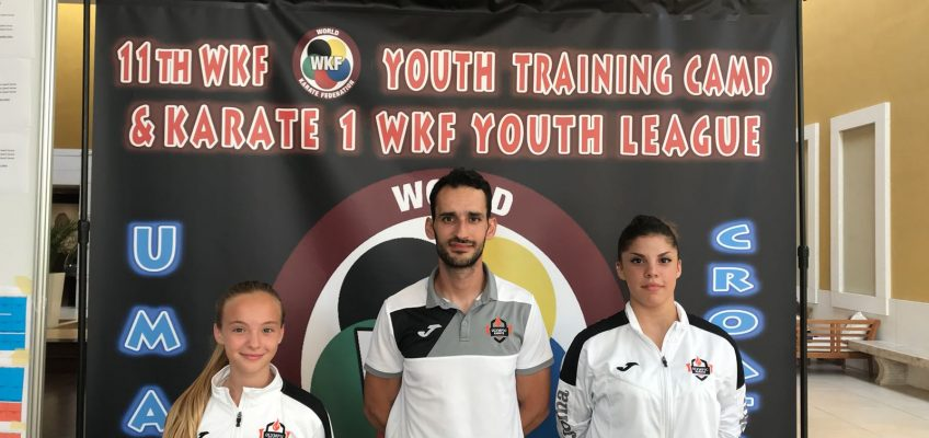 Olympic Karate Marbella presente en la Liga Mundial de Karate con dos de sus competidoras