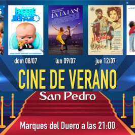 La Tenencia de Alcaldía de San Pedro Alcántara organiza un ciclo de Cine de Verano que se podrá disfrutar en la pantalla gigante de Marqués del Duero