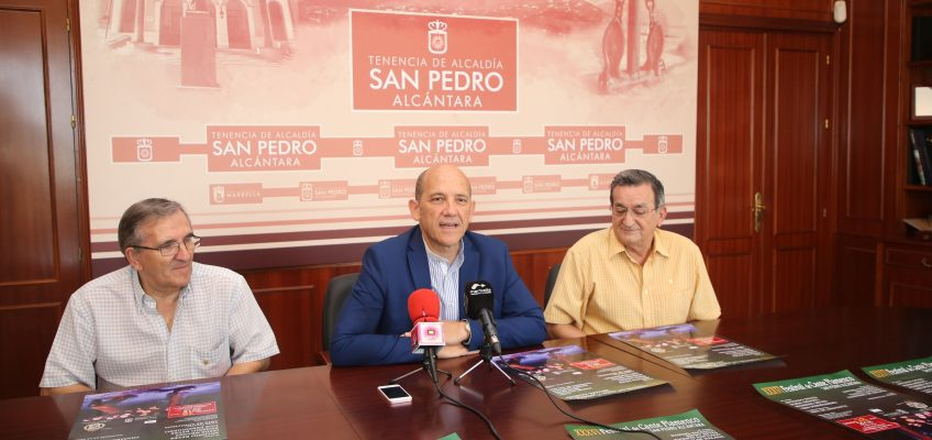 La XXXVI edición del 'Festival de Cante Flamenco San Pedro Alcántara' contará con Antonio Reyes y Jesús Méndez