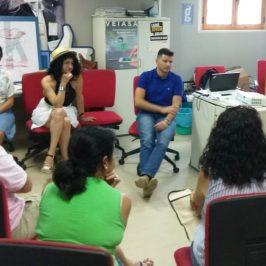 Proyecto  europeo Pathwaysforemploy Empresarios malagueños prueban con Guadalinfo una nueva herramienta para validar las competencias digitales para emprender