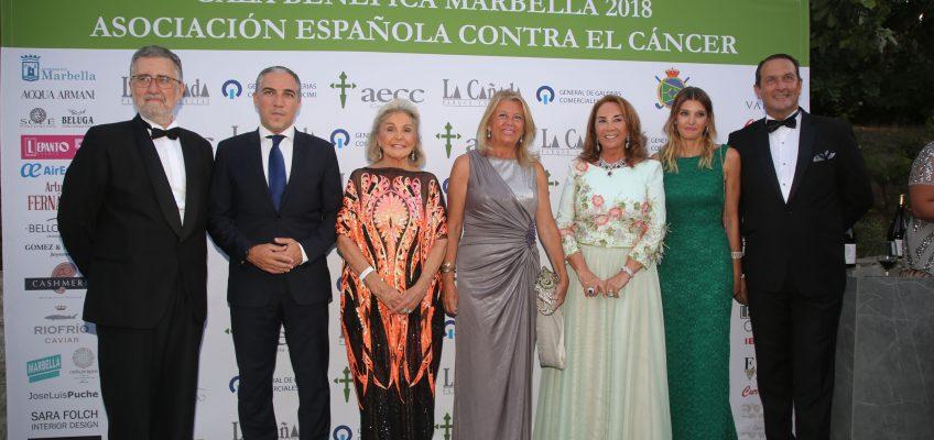 La alcaldesa apoya a la AECC en su XXXV gala benéfica cuya recaudación se destinará a la puesta en marcha de un centro de día en la ciudad