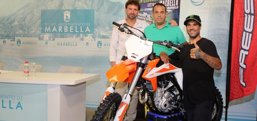El 'Freestyle' regresa a Marbella el próximo sábado 18 de agosto con pilotos de primer nivel como Edgar Torronteras  El cuatro veces campeón del mundo en esta disciplina, Maikel Melero, y el subcampeón del mundo de esta modalidad, Brice Izzo, también estarán en el evento, que tendrá lugar en el Estadio Municipal