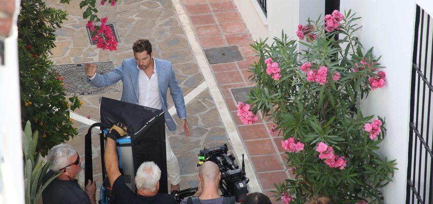 Marbella se convierte en escenario del nuevo videoclip del cantante David Bisbal