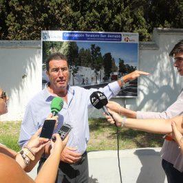 Las obras de mejora del tanatorio de San Bernabé, con un presupuesto de casi 900.000 euros, comenzarán en septiembre  El nuevo proyecto, cuya inversión y ejecución asume la concesionaria, contempla la construcción de dos salas y un patio interior