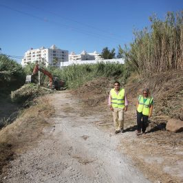 El Ayuntamiento acomete un plan de adecuación de cauces y arroyos en una veintena de ríos del municipio para que estén en perfecto estado ante la llegada de las lluvias y para evitar incendios