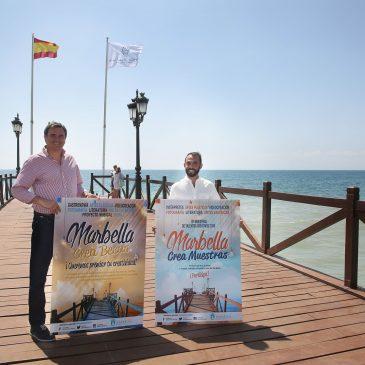 El Ayuntamiento pone en marcha la décima edición de Marbella Crea con la incorporación como novedad de un programa de becas de ayuda a la producción y promoción artística