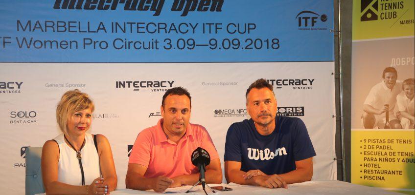 Marbella será escenario del Torneo Internacional de Tenis Intecracy ITF con la participación de alrededor de 80 jugadoras