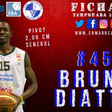 Bruno Diatta llega a Marbella para dar espectáculo en la pintura