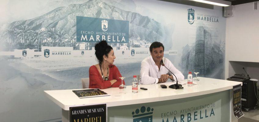 El Palacio de Ferias y Congresos 'Adolfo Suárez' acogerá este domingo el espectáculo 'Grandes Musicales de Maribel Urbano' a beneficio de Marbella Voluntaria