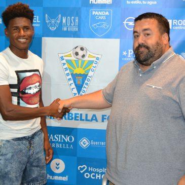 El Marbella FC presenta a Mustafá y confirma  el fichaje de N'Diaye