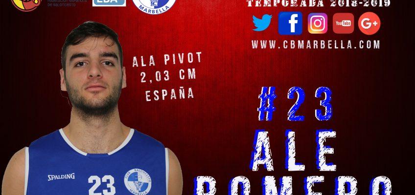 Alejandro Romero volverá a vestir la camiseta del CB Marbella