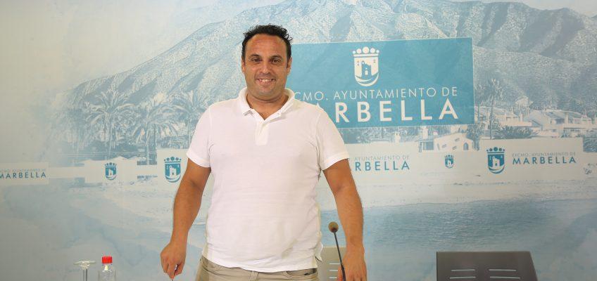 Mérida subraya la apuesta en el último año por las instalaciones deportivas y destaca la recuperación de los grandes eventos para Marbella