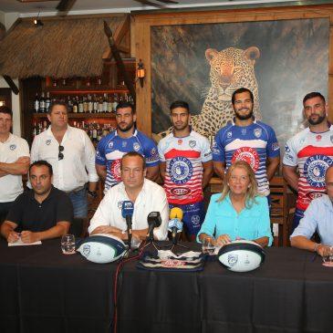 La alcaldesa destaca el compromiso del Ayuntamiento con el Trocadero Marbella Rugby Club de cara al inicio de su nueva temporada
