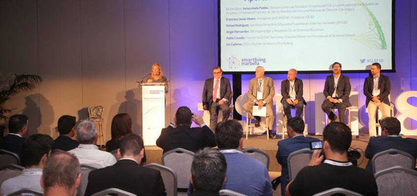 La alcaldesa destaca la importancia de que Marbella se convierta nuevamente en punto de referencia de debate en el sector de la innovación con la celebración del IX Congreso 'Smart Living'