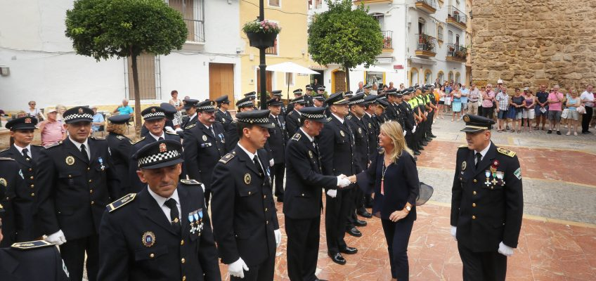 """La alcaldesa resalta en el Día de la Policía Local que la seguridad """"volverá a contar con un importante esfuerzo presupuestario en 2019"""""""