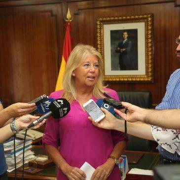 """La alcaldesa considera """"insólito"""" que el Gobierno del PSOE """"pretendiera arrebatar a Marbella los fondos recuperados en los procedimientos judiciales por corrupción"""""""