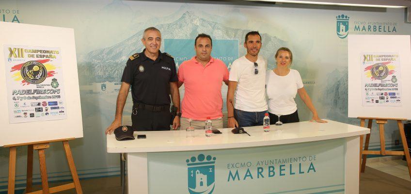 Marbella será escenario a partir de mañana del XII Campeonato de España 'Padelfirecops 2018' para Fuerzas y Cuerpos de Seguridad del Estado, que contará con 150 participantes