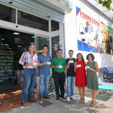 El Ayuntamiento agradece la donación de mil euros de un empresario local para la adquisición de material escolar en beneficio de familias con escasos recursos