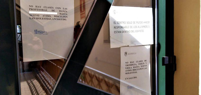 IU URGE A PP Y OSP A QUE SE PONGAN A TRABAJAR PARA  GARANTIZAR LA IMPARTICIÓN DE LOS 9 CURSOS DEL CONSERVATORIO PENDIENTES DE INICIO POR FALTA DE PROFESOR