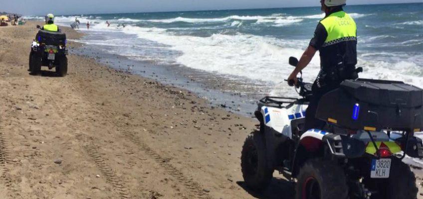La unidad de la Policía Local de Playas ha realizado más de 250 actuaciones este verano   La mayoría de las intervenciones han estado relacionadas con el incumplimientos de las ordenanzas municipales
