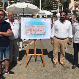"""El Ayuntamiento peatonalizará la calle de Poniente del Puerto Deportivo de Marbella """"para seguir impulsando la integración del recinto con el centro de la ciudad"""""""