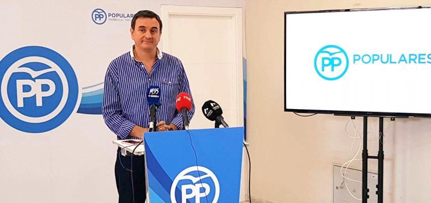 """Campaña 'Susana Díaz castiga a Málaga'  El PP critica que la Junta """"exprime"""" a Málaga y Marbella mientras baja los impuestos al resto"""