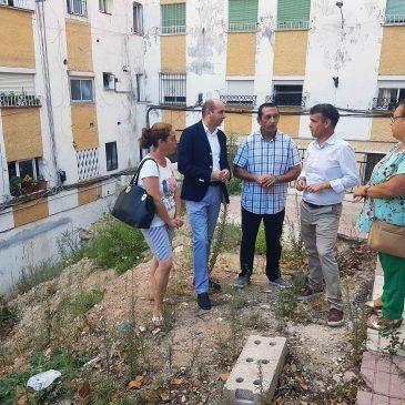 El PSOE solicita a la Diputación una subvención de 880.000 euros para un plan integral de la barriada Plaza de Toros de Marbella