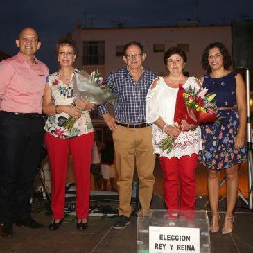 Elección Reinas y Reyes de los Centros de Participación Activa 1 y 2 de San Pedro Alcántara, que tuvo lugar en la Plaza de Istán