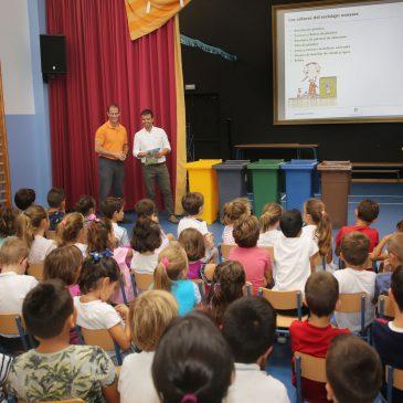 La campaña Colegios Verdes educará en buenas prácticas de limpieza y reciclaje a alumnos de 27 centros educativos de la ciudad