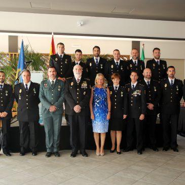 """La alcaldesa destaca la """"estrechísima colaboración"""" entre la Policía Nacional y la Local para """"que Marbella sea una ciudad envidiable"""""""