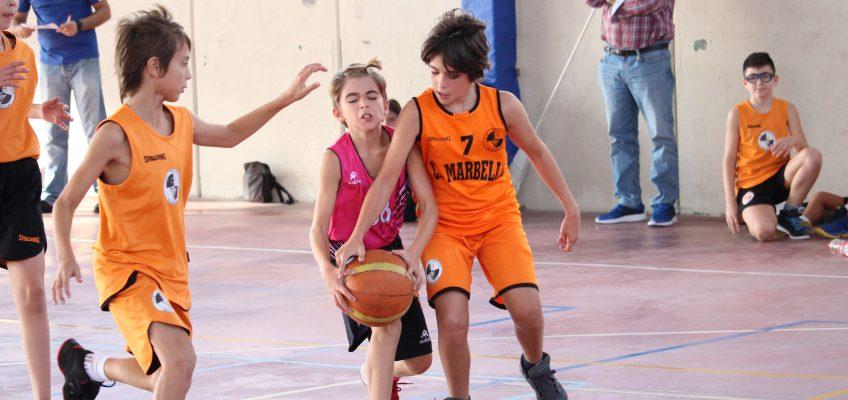 La Liga Escolar Municipal arrancó el pasado sábado en el Serrano Lima