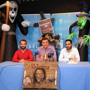 El Casco Antiguo de Marbella será escenario de la 'Gran Fiesta de Halloween' el próximo 31 de octubre con 13 actividades que incluirán talleres, pasacalles y pasajes del terror