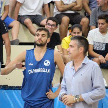 El CB Marbella ya prepara su debut en Liga EBA ante CB Almería