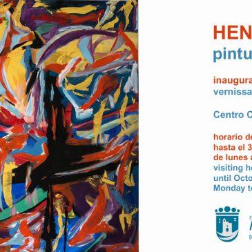 El Centro Cultural Cortijo Miraflores acoge este viernes la inauguración de la exposición de pinturas del artista Henri Philippe