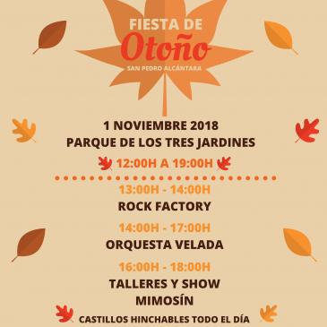 El Parque de los Tres Jardines acogerá la Fiesta de Otoño de San Pedro con el reparto de alrededor de 150 kilos de castañas, música en vivo y talleres