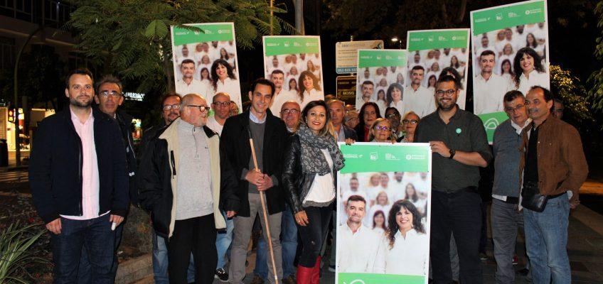 """Adelante Andalucía inicia una campaña hacia el 2D con la vocación de """"transformar Andalucía desde Marbella""""  •Adelante"""