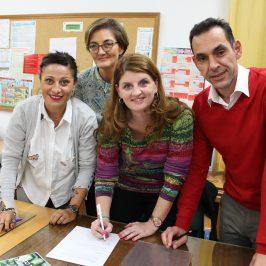 Adelante Andalucía se suma a las reivindicaciones de la Agrupación Independiente de AMPAS y firma el Acuerdo Marco por una Enseñanza Pública de Calidad que proponen
