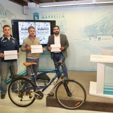 Marbella celebrará el Día del Pedal el 25 de noviembre para fomentar el uso de la bicicleta y se sumará a la campaña solidaria #PalanteconSarah