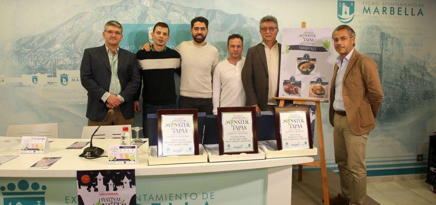 El Ayuntamiento entrega los premios de la primera edición del Festival Monster Tapa celebrado con motivo de la festividad de Halloween