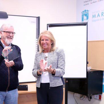 """La alcaldesa destaca la necesidad de que el tren litoral sea una realidad y se aborde el impulso de esta infraestructura """"de forma seria y no solo en periodo electoral"""""""