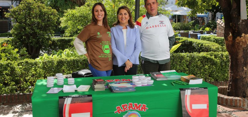 Marbella y San Pedro Alcántara se suman al Día Sin Alcohol con el objetivo de trabajar en materia de prevención