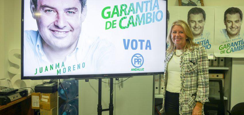 """Ángeles Muñoz hace un llamamiento a la participación porque """"el cambio es posible y necesario para Andalucía"""""""