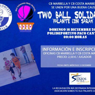 El CB Marbella y CB Costa Marbella unen fuerzas en un evento benéfico