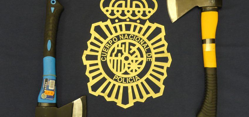 La Policía Nacional detiene dos hombres por el asalto con hachas a una vivienda de la localidad