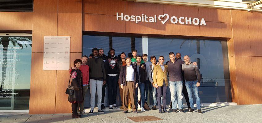 Club baloncesto marbella     Encuentro entre Hospital Ochoa y CB Marbella en las instalaciones del centro médico