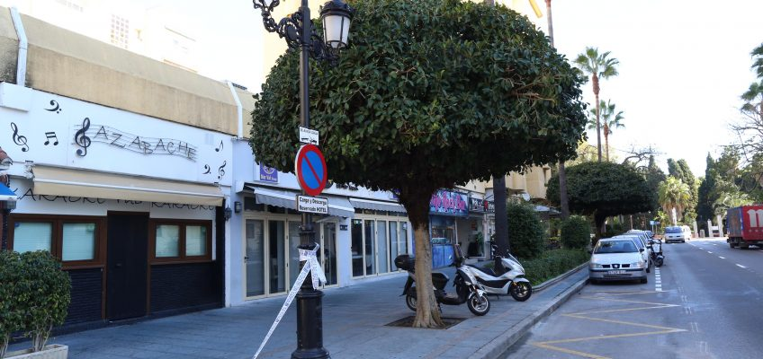 El Ayuntamiento mejora la iluminación y la eficiencia energética en las avenidas José Manuel Vallés, Arias Maldonado y España y en la calle Camilo José Cela