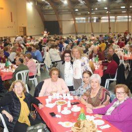 Los Centros de Participación Activa celebran el Encuentro Intercentros Navidad 2018 en el Palacio de Congresos Adolfo Suárez