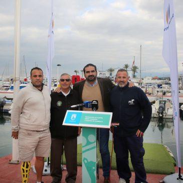 El Ayuntamiento firma sendos acuerdos de colaboración y patrocinio con el Club de Pesca Deportiva y el Club Kayak de Marbella